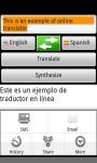 Free online translator screenshot 1/2