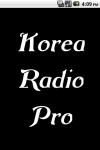 Korea Radio  Pro screenshot 1/3