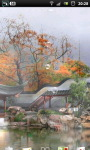 Misty Chinese Garden LWP screenshot 1/6