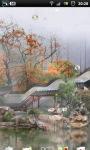 Misty Chinese Garden LWP screenshot 2/6
