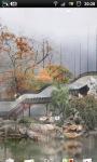 Misty Chinese Garden LWP screenshot 3/6