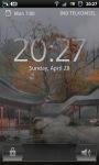 Misty Chinese Garden LWP screenshot 4/6