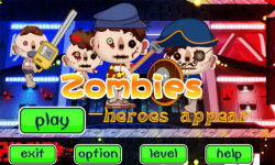 Zombies- heroes appear screenshot 1/6