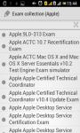 Apple exam collection screenshot 1/4