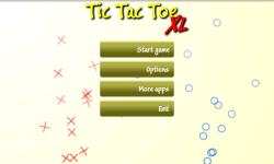 Tic Tac Toe XL screenshot 1/4