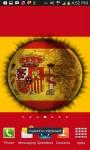 3D Spinning Spain Flag Live Wallpaper screenshot 1/3