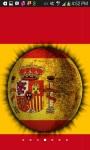 3D Spinning Spain Flag Live Wallpaper screenshot 2/3