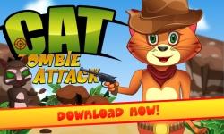 Cat Zombie Shot screenshot 2/3