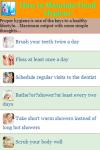 How to Maintain Good Hygiene screenshot 2/3
