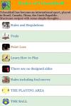 Rules of Tchoukball screenshot 2/3