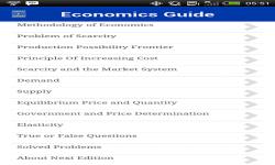 Economics Basis screenshot 2/2