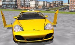 Flying Taxi car simulator screenshot 1/4
