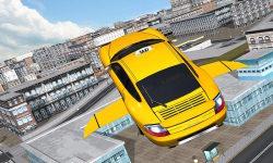 Flying Taxi car simulator screenshot 2/4