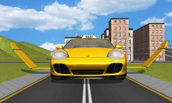Flying Taxi car simulator screenshot 4/4