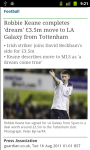 Offside Soccer News LITE screenshot 5/5