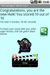 Avengers Quiz screenshot 3/3