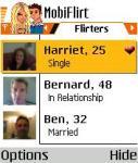 mobiFlirt V1.01 screenshot 1/1
