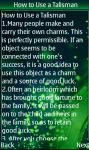 Talismans screenshot 5/6