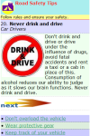 Road Safety Tips screenshot 2/2