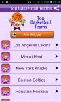 Basketball Teams Top Trending screenshot 1/4
