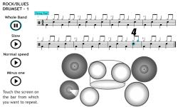 Play Rock Blues on the Drum Set 1 screenshot 1/4
