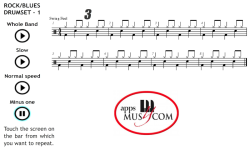 Play Rock Blues on the Drum Set 1 screenshot 4/4
