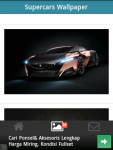 Supercars Wallpaper Amazing screenshot 6/6