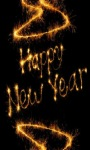 Golden New Year Live Wallpaper screenshot 3/3