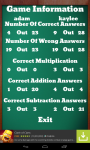 Maths Quiz screenshot 3/5