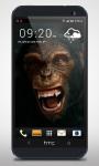 Evil Monkey 3D Live Wallpaper screenshot 2/3