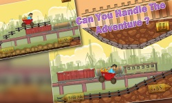 Speedy Gold Miner : Rail Rush screenshot 2/5