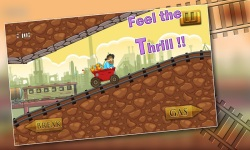 Speedy Gold Miner : Rail Rush screenshot 3/5