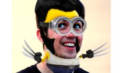 Yellow Minion Face Maker screenshot 3/3