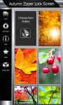 Best Autumn Zipper Lock Screen screenshot 4/6