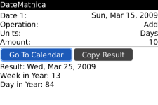 DateMathica screenshot 1/1