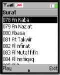 Tilawatil Quran Juzz Amma screenshot 1/1