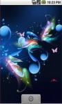 Butterfly Fantasy Live Wallpaper screenshot 3/5