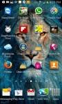 SPACE LION LWP screenshot 2/3