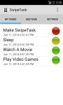 SwipeTask screenshot 1/3
