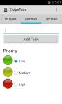 SwipeTask screenshot 2/3