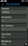 Super Tip Calculator screenshot 1/4