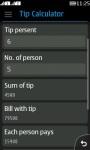 Super Tip Calculator screenshot 2/4
