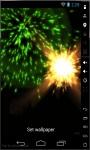 Colorful Fireworks Live Wallpaper screenshot 2/3