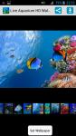 Free Live Aquarium HD Wallpaper screenshot 1/4