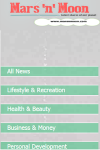 Mars n Moon Mobile News Reader screenshot 1/6