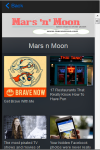 Mars n Moon Mobile News Reader screenshot 3/6