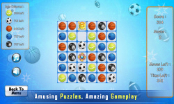 Puzzle Match 3 : Sport screenshot 1/4