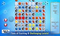 Puzzle Match 3 : Sport screenshot 2/4