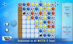 Puzzle Match 3 : Sport screenshot 4/4