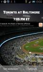 Baseball Scoreboard Live Wallpaper screenshot 1/4
